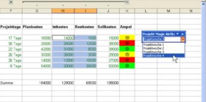 Projektplan Erstellen Mit Excel Mit Vorlage Beispiel
