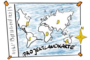 Projektlandkarte
