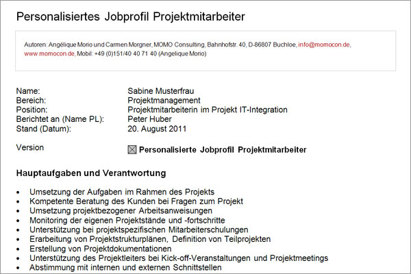 Jobprofil