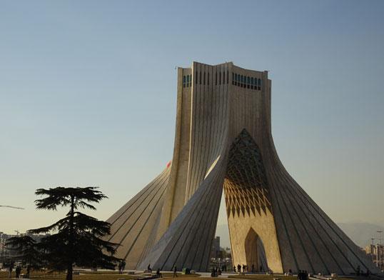 Bild 1: Freiheitsturm in Teheran