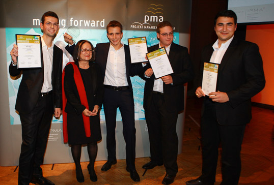 Gewinner des pma junior award