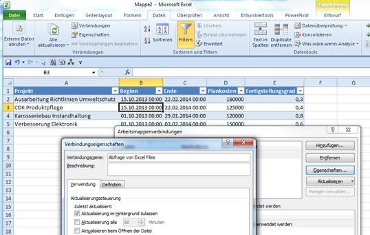 Das Excel Werkzeug Tabelle Im Praxiseinsatz Teil 1 Mit