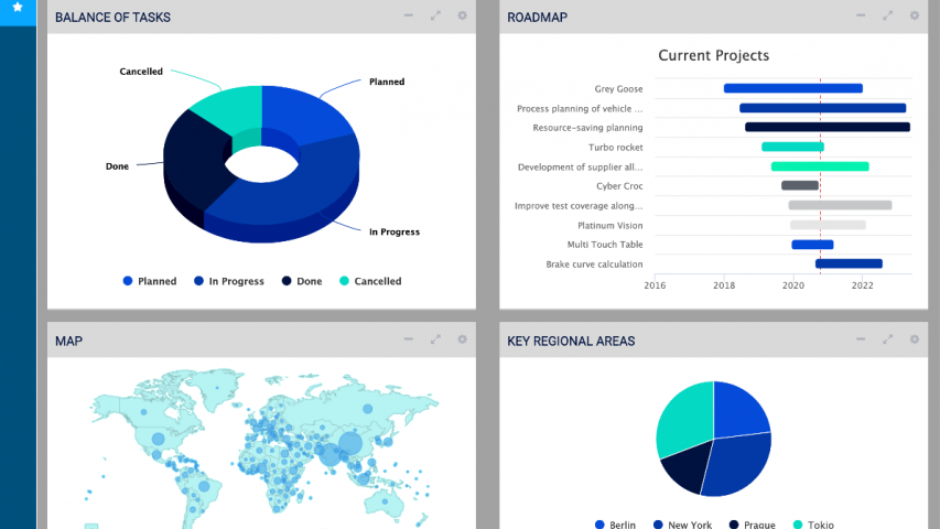 cplace Dashboard