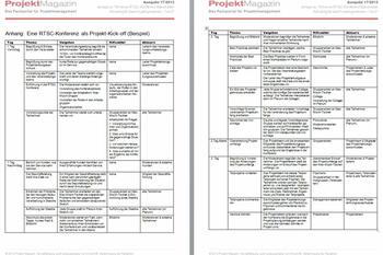 Projektmanagement Vorlagen Und Tools Als Download