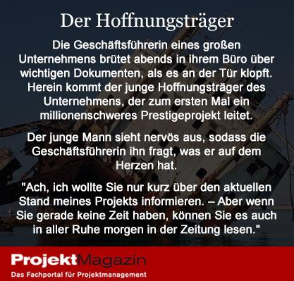 Projektmanagement Witze Projekt Magazin